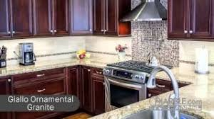 what color granite looks best with cherry cabinets top 5 granites for cabinets