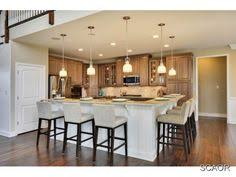 kitchen with l shaped island remodel designer edge islands split level bi level home remodeling