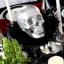 picture of beautiful halloween wedding centerpieces