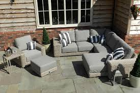 Modular Chaise Lounge 4 Seasons Outdoor Kingston 4 Piece Modular Chaise Rattan Sofa