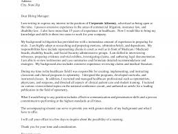 Cover Letter For Any Position Tax Attorney Cover Letter Lead Bartender Cover Letter