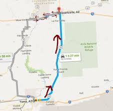 day 5 cycling on interstate 10 from blythe california to