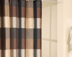 curtains curtains orange and brown striped curtains designs best