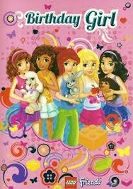 lego city friends girls open birthday card birthday amazon