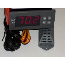 greenhouse thermostat fan control moisture humidity controller hygrometer electronic humidistat