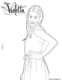 Coloriage violetta pose mannequin top model  JeColoriecom