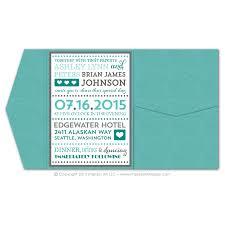 pocket invitations fancy typography pocket invitations impress ink stationery