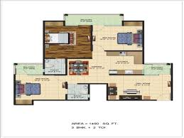 Design House 20x50 by 100 20 By 50 Home Design 24 X 36 House Plan Gharexpert 100