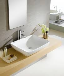 bathroom vessel sink ideas impressive best 25 rectangular vessel sink ideas on