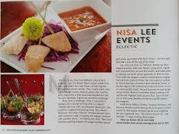 mag cuisine westchester wedding magazine 2015 creative caterer nisa