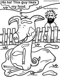 the prodigal son coloring pages funycoloring