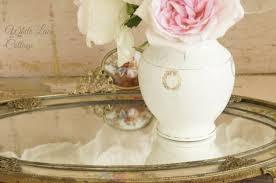 Vase French White Vase White Lace Cottage