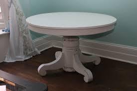 White Circle Table by Antique White Kitchen Table Round Antique White Kitchen Table