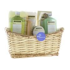 Spa Gift Baskets For Women Home Spa Basket Mother Gift Basket Spa Set Lemongrass Eucalyptus