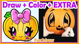 pumpkin pencil and in color pumpkin