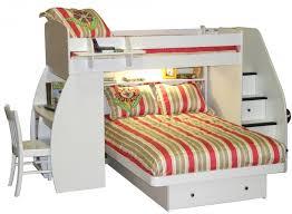 Alluring Loft Bed With Desk Underneath Bunk Beds Full Over Full - Full bunk bed with desk underneath