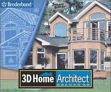 Broderbund 3d Home Design Suite Deluxe Version 3 0 plete