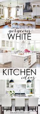 kitchen styling ideas best 25 white kitchens ideas on white kitchen designs