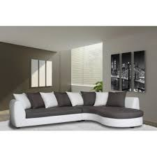 canapé gris et blanc pas cher canape gris et blanc pas cher maison design hosnya com
