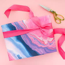 marble wrapping paper pink and navy marble wrapping paper arbor army