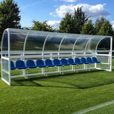 football team benches dugouts u0026 shelters net world sports