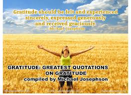 greatest quotations on gratitude what will matter