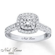 Neil Lane Wedding Rings by Kay Neil Lane Engagement Ring 3 4 Ct Tw Diamonds 14k White Gold