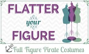 Figured Halloween Costumes Flatter Figure Size Pirate Costumes Halloween