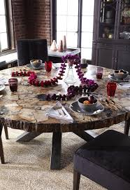 petrified wood dining table petra 60 round petrified wood dining table wood wood petra and