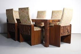 mid century lane brutalist dining table u2013 abt modern
