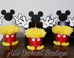 mickey mouse centerpieces mickey centerpiece etsy