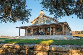 Small Post And Beam Homes Texas Hill Country Stone Homes Stone House Fredericksburg Texas