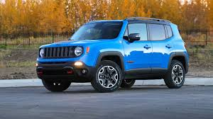 jeep renegade light blue 2015 jeep renegade test drive review