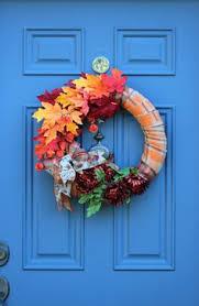 thanksgiving wreath fall rag wreath fall faith by wreathobsessed