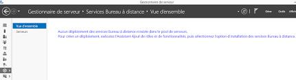 service bureau distance accès rdp distant restrictions d utilisateurs depuis l exterieur