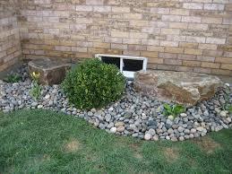 river rock garden border home decor u0026 interior exterior