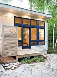 Outdoor Shower Room - outdoor shower enclosure houzz