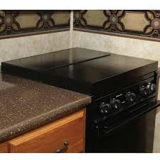 Under Cabinet Coffee Maker Rv Black Universal Stove Top Cover Camco 43554 Counter U0026 Stove