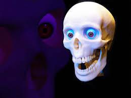 homemade animated halloween props halloween skull foam skull halloween prop halloween skull
