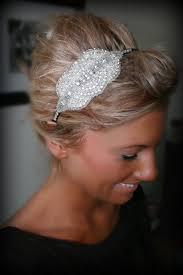 rhinestone hair best 25 rhinestone headband ideas on sparkly wedding