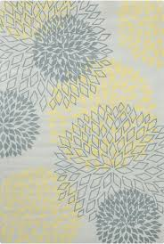 Area Rug Grey by Rug Grey And Yellow Area Rug Home Interior Design
