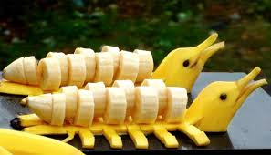 fruit decorations how to make banana decoration banana fruit carving banana