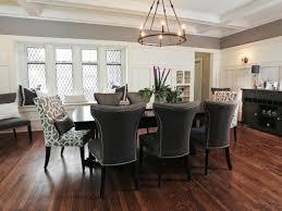 Dark Dining Room by Dark Wood Floor Family Room Gen4congress Com