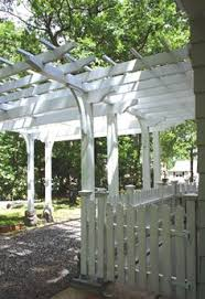 Trellis Structures Pergolas Driveway Pergola This Garden Structure Functions As Both An Open