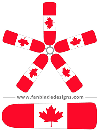fan blade designs canada flag u2013 fan blade designs