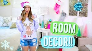 Easy Christmas Decorations For Your Bedroom Holiday Room Makeover Diy Room Decor For Christmas Alisha Marie