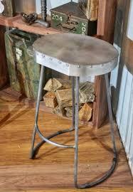 Zinc Top Bar Table Pair Of Zinc Top Bar Stools Furniture Company