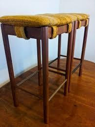 danish bar stools retro teak danish original parker bar stools retro furniture i