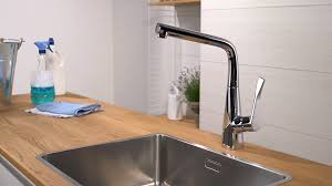 hansgrohe kitchen faucet reviews hansgrohe metris single lever kitchen mixer 320 14822000