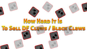 black claws stick run how it is to sell df claws black claws